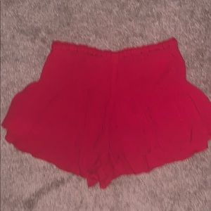 Free People Smocked Shorts